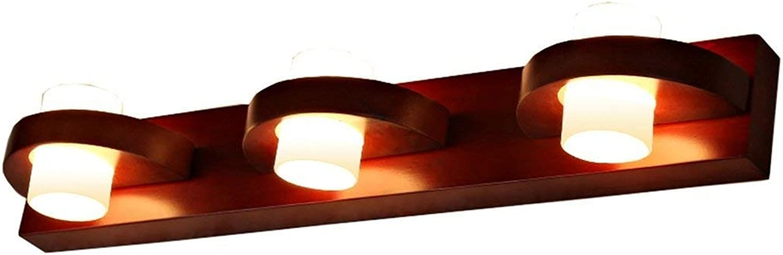Gorkuor Wandleuchte Mode Retro Wandleuchten-WXP Massivholz LED Spiegel Frontleuchte Badezimmer Bad Makeup Leuchten Spiegelschrank Leuchten Wandleuchten Leuchten-WXP by B07K2X6Y82   Elegantes Aussehen