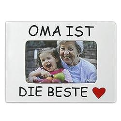 """Bilderrahmen """"Oma, Mam, Opa, Papa,- ist der beste"""" für jeweils 1 Bild im Format 10x15 (Oma)"""