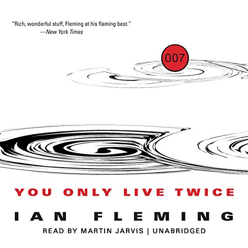 You Only Live Twice audiobook cover art
