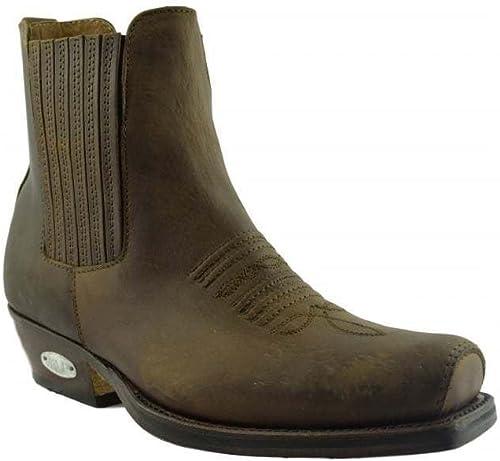 Loblan - botas para Hombre marrón marrón