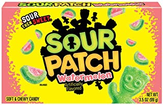 Sour Patch Kids Candy (Watermelon, 3.5-Ounce Box, Pack of 12)