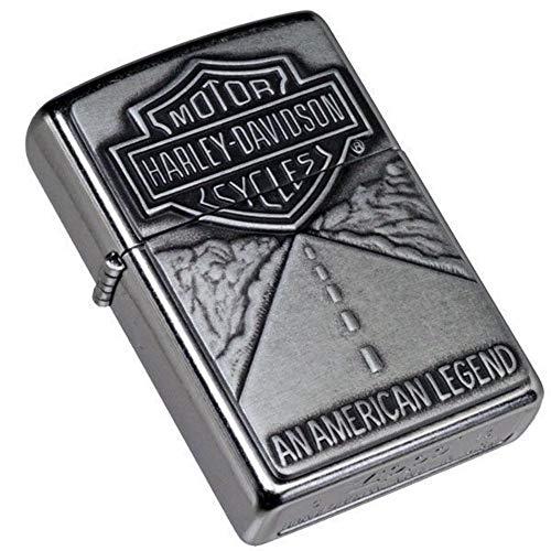 ZIPPO - Briquet Harley Davidson chrome relief Made in USA