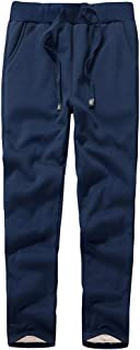 Duyang Women's Winter Warm Sherpa Lined Sweatpants Active Running Jogger Pants