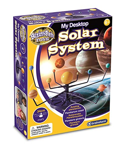 Brainstorm Toys- Sistema Solar de Escritorio, Multicolor, Talla única (E2052)