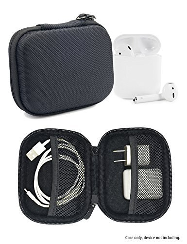 CaseSack Protective case for Airpods Pro Plus Accessories – Compatible with Other Brands – Red