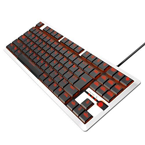 エレコム ゲーミングキーボード 【ARMA】 メカニカル 独自の薄型設計 コンパクト5000万回耐久スイッチ 日本語配列 LED搭載 ホワイト TK-ARMA30WH