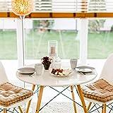 Profolio | Originale Tischfolie rund transparent mit abgeschrägte Kante | Hochglanz Tischdecke Tischschutz für Ihren Tisch 2mm | Made in Germany | Größe wählbar | 110 cm - 2
