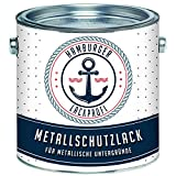 Metallschutzlack GLÄNZEND Weiß RAL 9010 Metallschutzfarbe Metalllack Metallfarbe