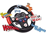 #1118 Spezial Soundlenkrad für Bobby Car mit acht verschiedenen Tasten und Sounds • Lenkrad...