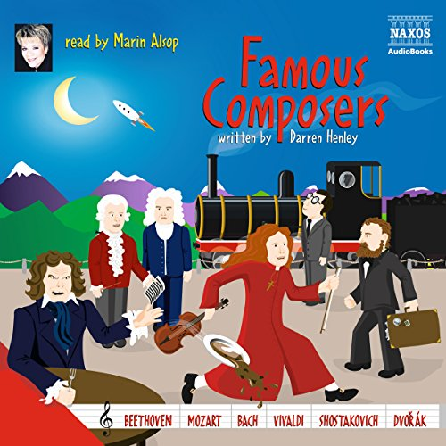 Famous Composers audiobook cover art