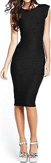 Taydey Women's Midi Dresses Sleeveless Knee Length Party Evening Dress