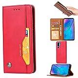 JIANWU Couverture de boîtier de téléphone, Coque Portefeuille en Cuir pour Huawei P30 Pro Cuir...