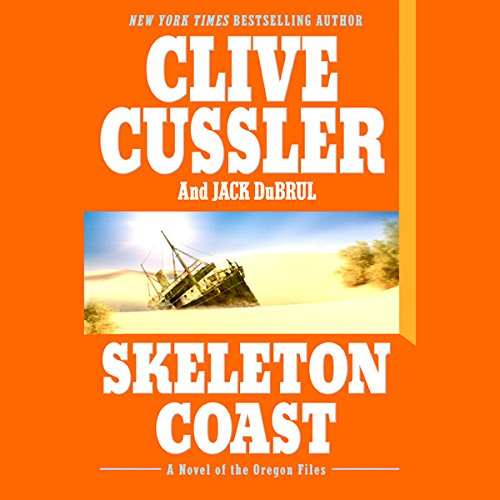 Skeleton Coast audiobook cover art
