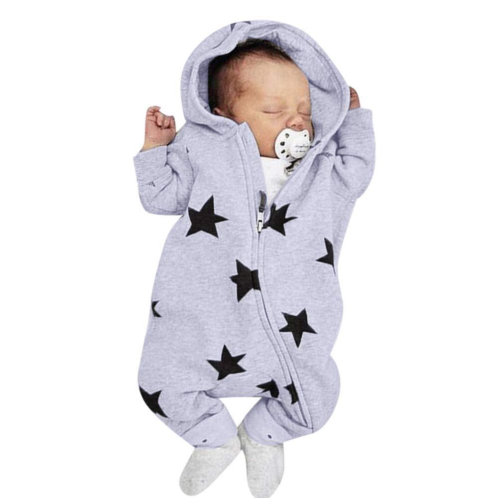 DAY8 Vêtement Bébé Garçon Naissance 0-24 Mois Pyjama Bébé Garçon Hiver Body Combinaison Bébé Fille Pas Cher Automne Manteau Bébé Fille Barboteuse à Capuche Grenouillères