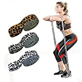 FGNB Long Booty Band Hip Circle Loop Resistance Band Workout Exercise for Legs Thigh Glute Butt Squat Bands Non- Slip Design 1013 (Color : Leopard 3, Size : 208cmx3cm)