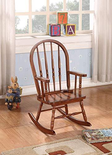 ACME Furniture 59215 Kloris Youth Rocking Chair, Tobacco