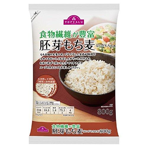 トップバリュー イオン 胚芽もち麦 2袋セット
