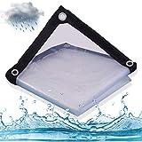 resistente al agua Moonvvin antiedad a prueba de polvo resistente al agua y a prueba de aceite Lona de lona transparente