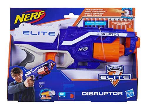 Nerf Elite Disruptor Pistola dardos 31cm Doble (Hasbro E0391