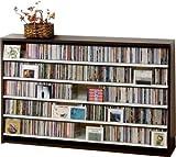 695枚収納 CD屋さんのCD/DVDラック 幅13