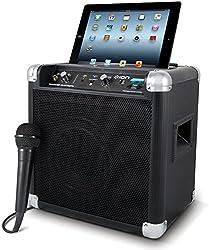Ion iPA57 Tailgater Portable Speaker System for Apple iPod (Radio, Bluetooth) - black