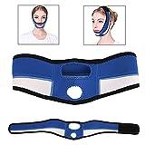 Máscara de corrección facial, Levante y apriete y adelgace el vendaje de corrección, para el cuidado de la barbilla doble y la cara, Kit de cinturones faciales de belleza