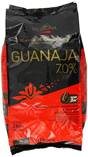 Valrhona -Guanaja 70% Kuvertüre - 3 kg