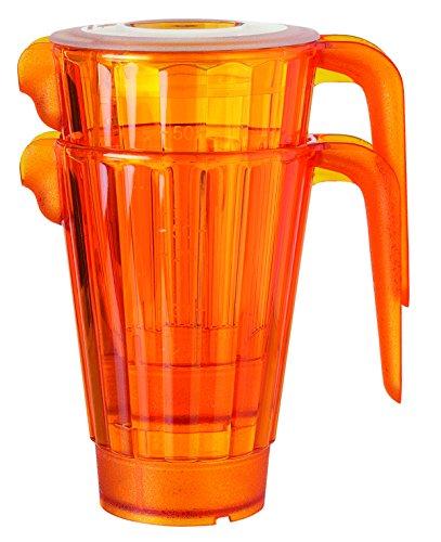 Visiodirect Lot DE 6 PICHETS S/BPA Mandarine 0,5L