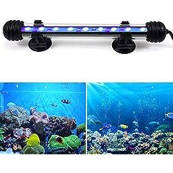 DOCEAN-2-58W-Aquarium-LED-Beleuchtung-Aquarium-Lampe-Aquariumleuchte-IP68-Wasserdicht-48cm-Unterwasserlicht-RGBWeiBlauWei-Blau