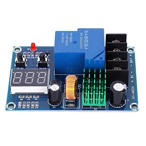 Módulo de control de carga de batería XH-M604, DC 6-60V Placa de protección Almacenamiento Interruptor de batería de litio Modelo de placa de protección para carga/parada automática