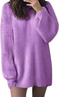 meilleur site web dernière vente invaincu x Amazon.fr : Pull Mohair Femme - Violet