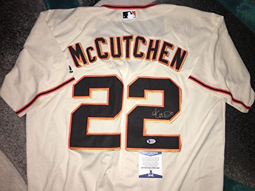 Andrew McCutchen Signed San Francisco Giants Jersey Superstar Beckett #2 - Autographed MLB Jerseys