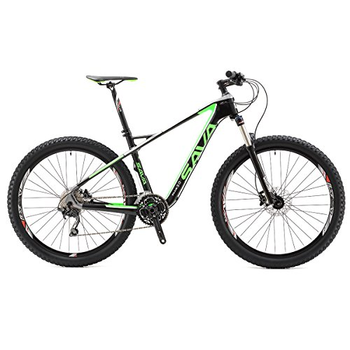 Why Should You Buy 27.5 Carbon Mountain Bike 30 Speed (Black Green, 17)