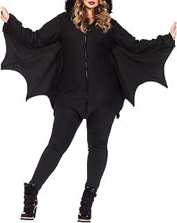 LDSSP Costumi da Donna per Halloween Bat Suit Fancy Dress Women Cosplay Ma
