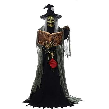 Figura bruja con el hechizo y el ejercicio: Amazon.es: Juguetes y ...