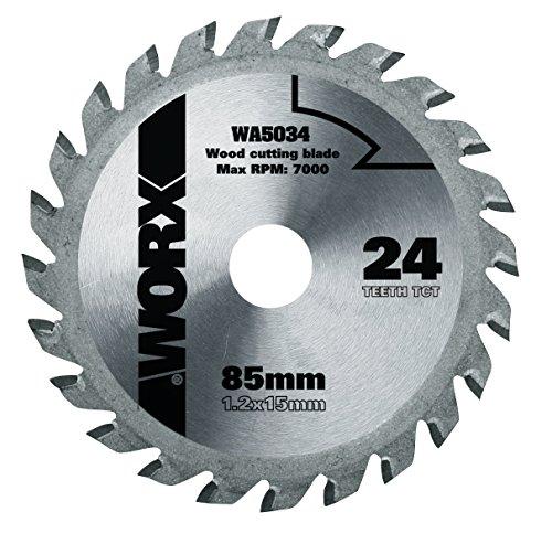 Lame de scie circulaire TCT - 85 mm - WA5034 - Worx