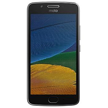 Motorola Moto G5+ Plus 32GB  5th Generation  XT1680 - 5.2  Full HD Snapdragon 625 Single SIM GSM Factory Unlocked - International Version - No Warranty  Lunar Gray