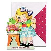パンチスタジオ バレンタインカード 封筒セット Watering