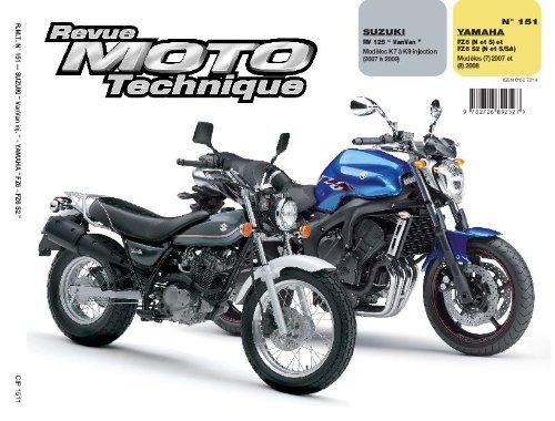 Rmt 151.1 Suzuki Rv125 R+Yamaha Fz6n et Fz6s 07/08
