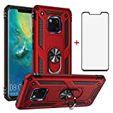 Phone Case for Huawei Mate 20 Pro with Tempered Glass