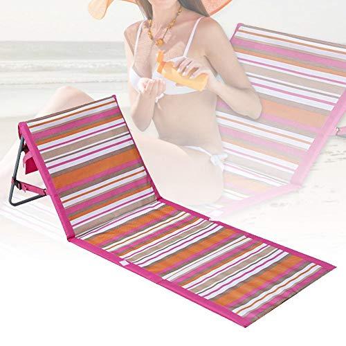hook.s Silla de Cama reclinable Plegable para tumbonas de jardín con Respaldo...