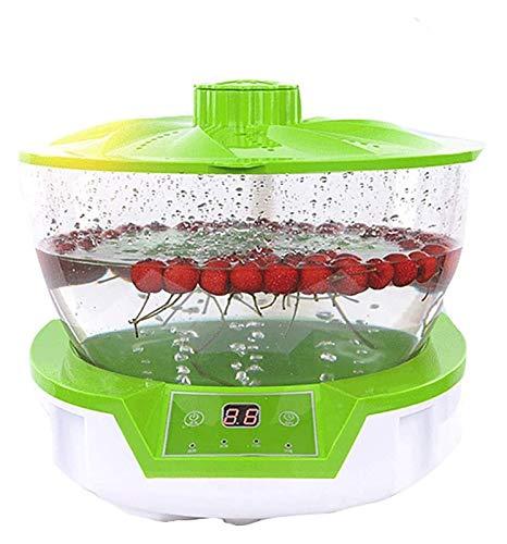 STBAAS Multi-Funcional de Frutas y Verduras Lavadora, Vegetales Automático/Carne de desinfección de la máquina, Equipos de Salud ecológica.Pantalla táctil Inteligente