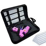 Hot Glue Gun,40W High Temp Heavy Duty Hot Melt Glue Gun Kit with 30pcs Glue Sticks(7.2'' x 0.27') for DIY Projects, Arts and Crafts, Home Quick Repairs & Sealing, Artistic Creation