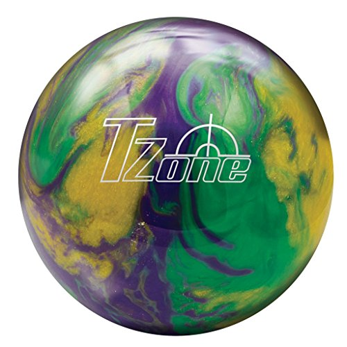 Brunswick TZone, Unisex, 60105808966, Green/Purple/Gold, 2,7 kg