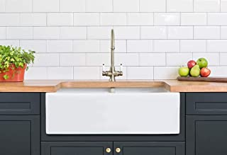 36 undermount farmhouse sink