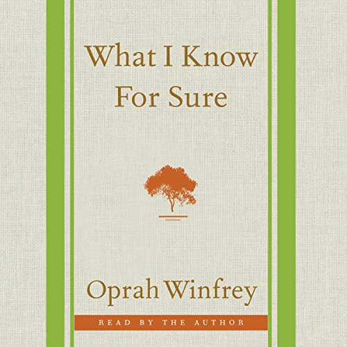 What I Know for Sure book cover