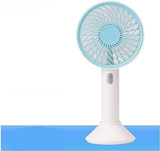 Color : Pink, Size : 2000mAh XIAOF-FEN Mini Fan USB Charging Triangular Support Summer Fan 3 Gear Wind Electric Fan Outdoor Personal Fans USB Fan