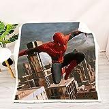 Avengers Spiderman couvertures Iron Man épaisse Couverture en Peluche Jeter pour Enfants garçons sur lit canapé canapé Couvre-lit
