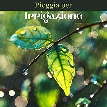 Pioggia per irrigazione - suoni della natura rilassanti per dormire profondamente