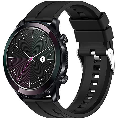 Songsier Armband Kompatibel mit Huawei Watch GT 2 42mm, 20mm Ersatz Uhr für Huawei Watch GT Elegant/Huawei Watch GT 2 42mm Sport Edition/Classic Edition/Elegant Edition/Honor Watch Magic 2 42mm